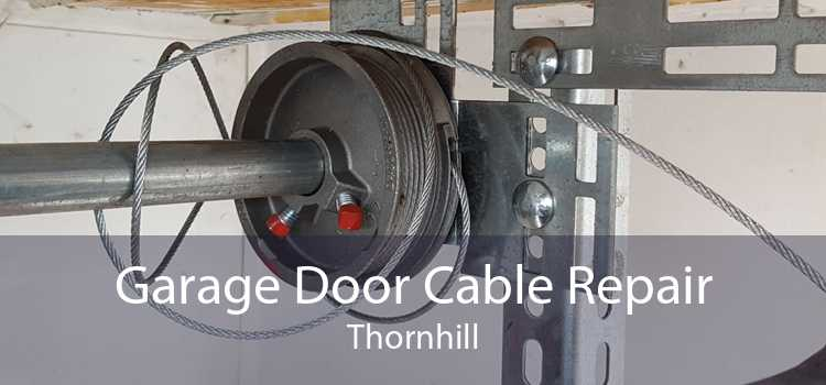 Garage Door Cable Repair Thornhill