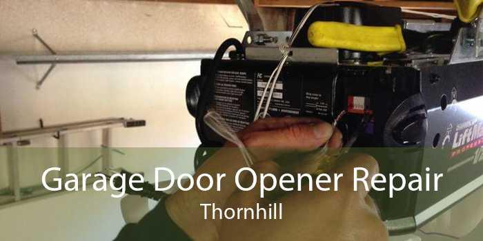 Garage Door Opener Repair Thornhill