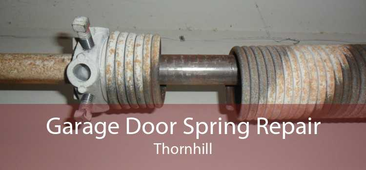 Garage Door Spring Repair Thornhill